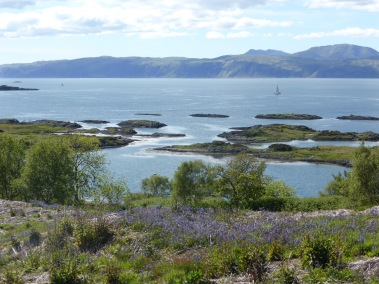 view across to Mull