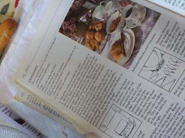 recipe book inside